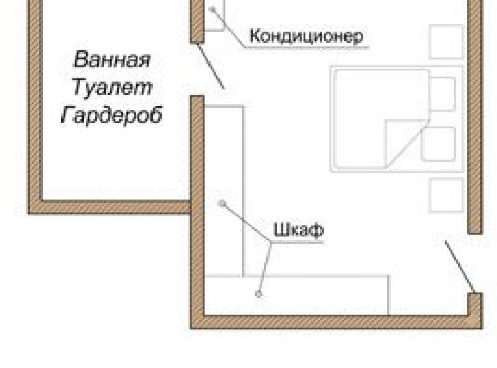 Расположение кондиционера в комнате